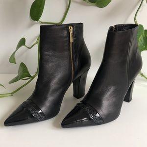 Zizi by Florsheim Leather Boots Pattent gold